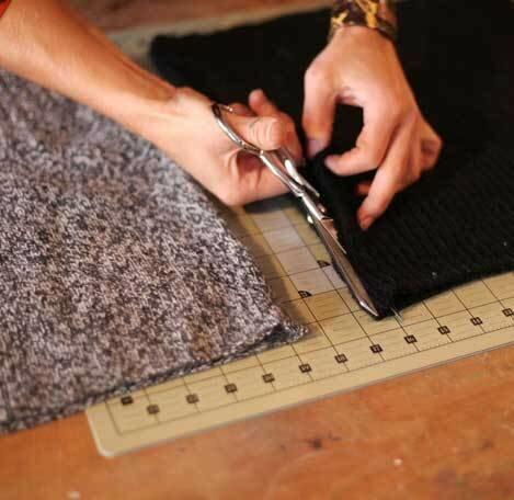 Носко-тапки из свитера