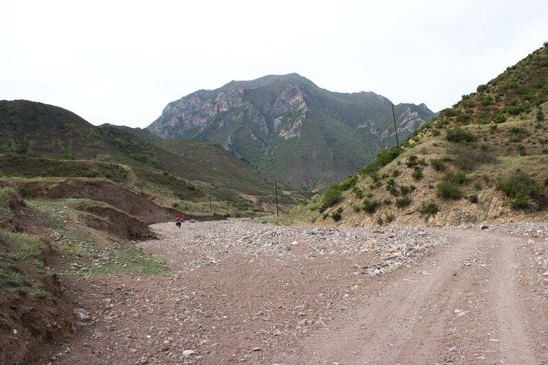 горы Инь Шань во Внутренней монголии, Китай