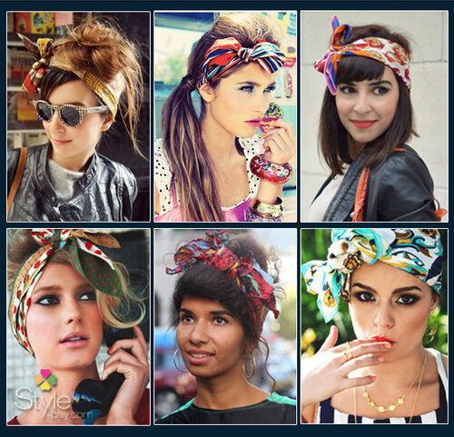 платки на голове, head scarf