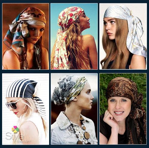 платок на голову в арабском стиле