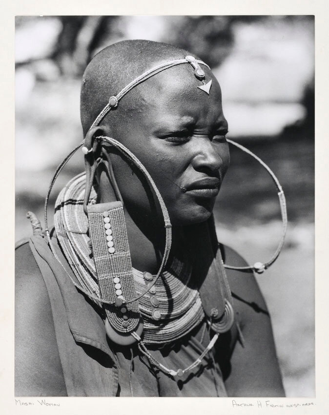 1960. Женщина массаи