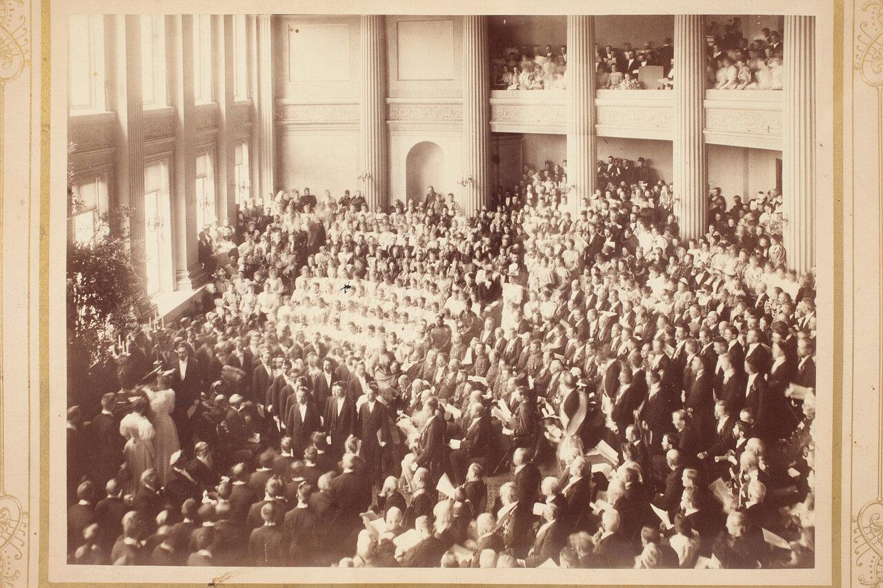 Выступление Оскара Сильвена в 1894