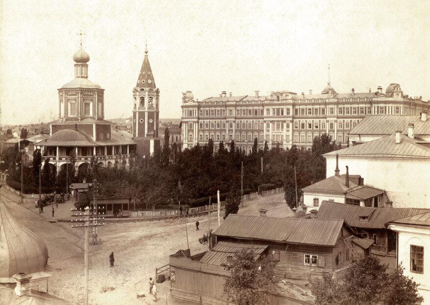 Общий вид Старособорной площади