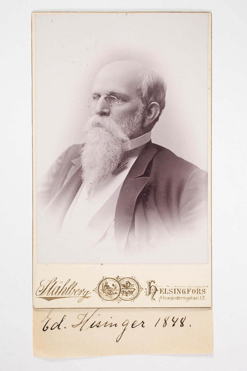 Эдвард Хизингер. 1898