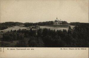 Дюны. Панорама станции и Церкви