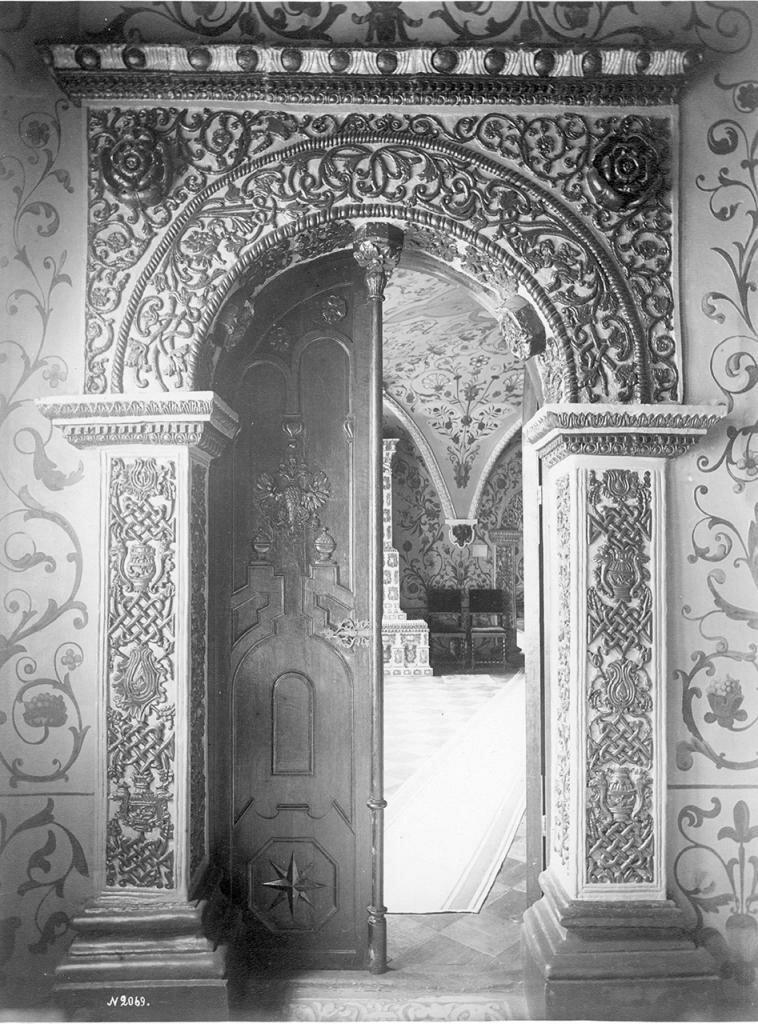 Наличник двери Теремов