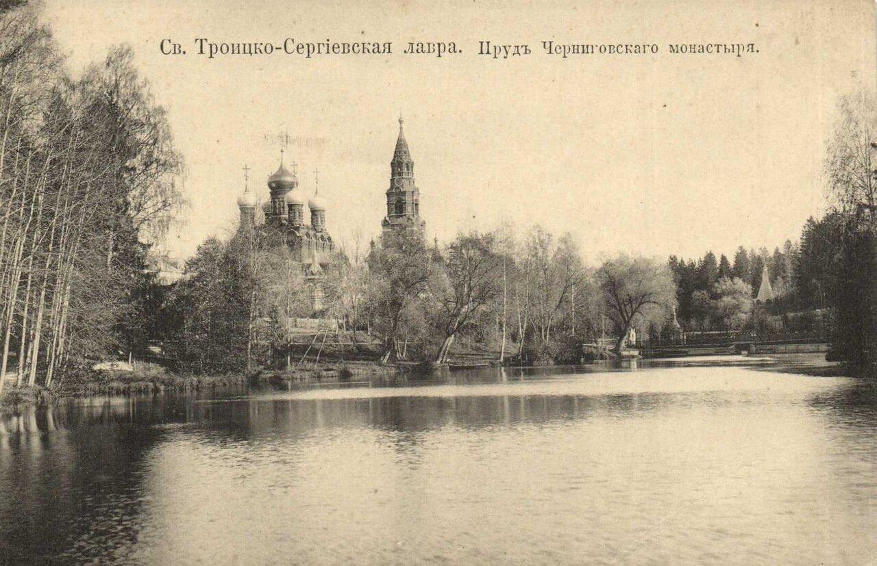 Пруд Черниговского монастыря