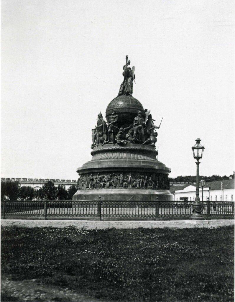 Памятник «Тысячелетие России». 1911