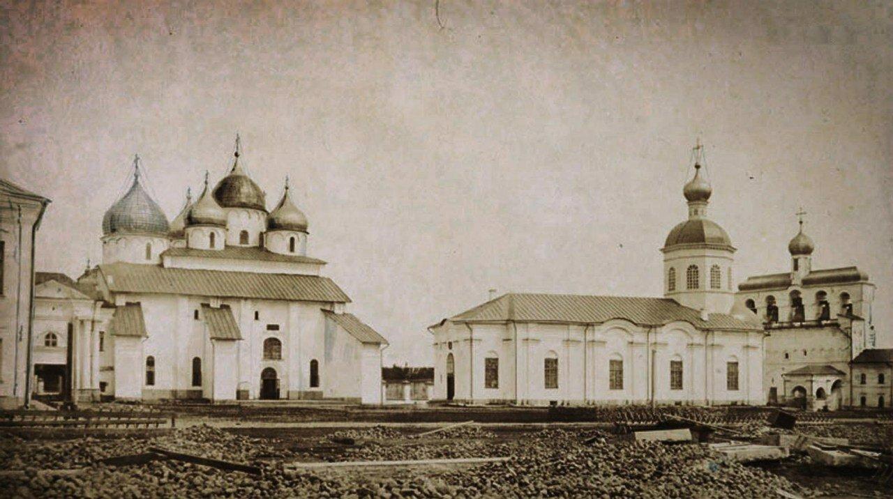 Софийский собор, церковь Входа в Иерусалим, Звонница. 1862