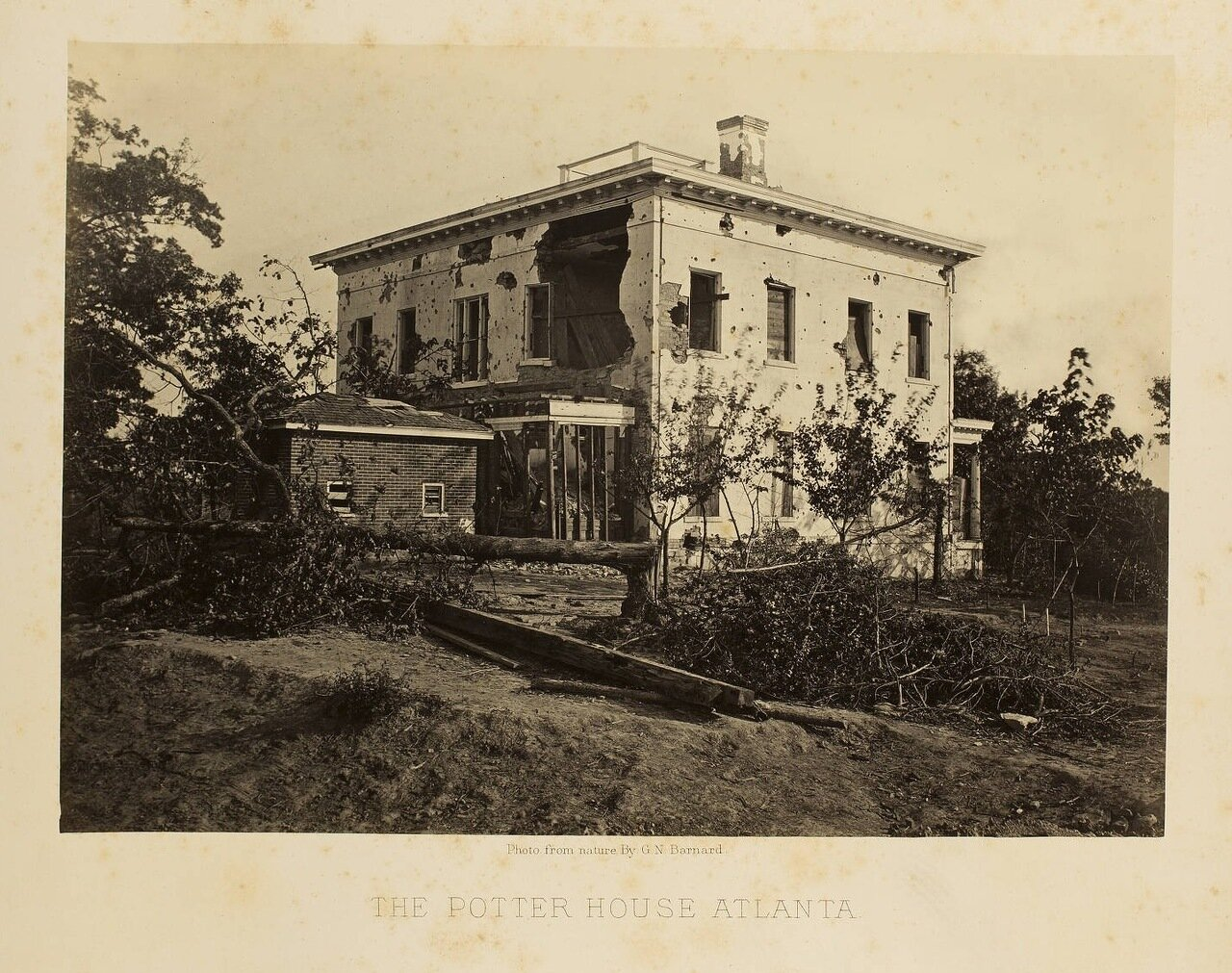 «Дом Поттера», Атланта