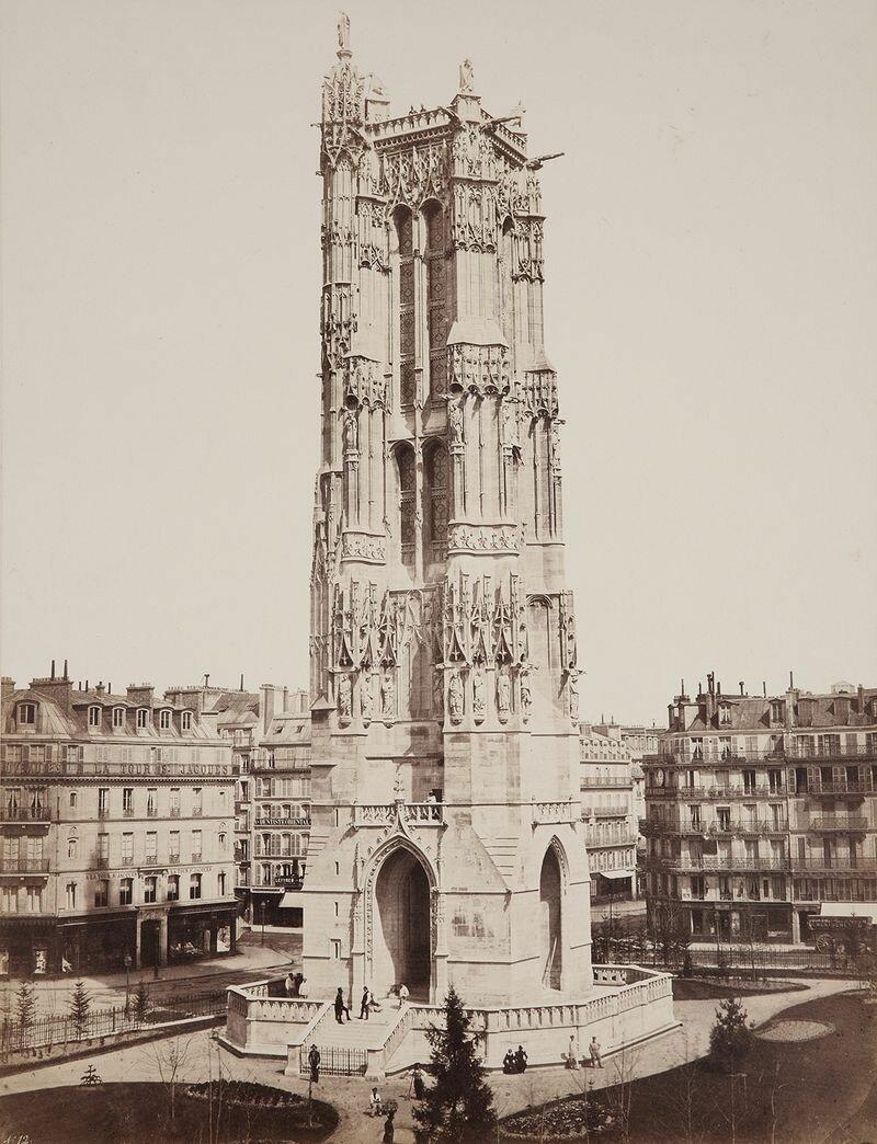 1858. Башня Сен-Жак