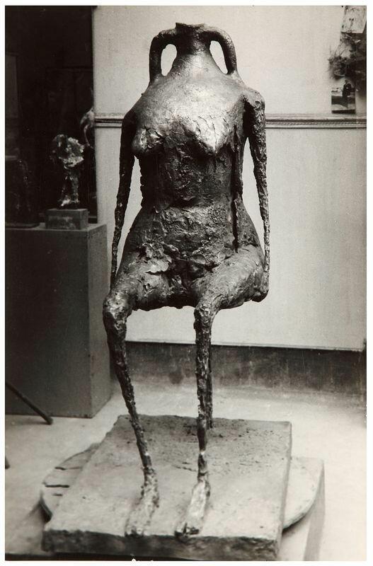 1950. Вода, скульптура Жермен Ришье