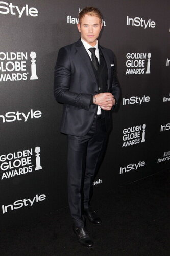 The Hollywood Foreign Press Association (HFPA) And InStyle Celebrates The 2014 Golden Globe Awards Season