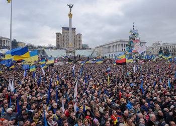Украинский спецназ блокировал доступ к площади Независимости