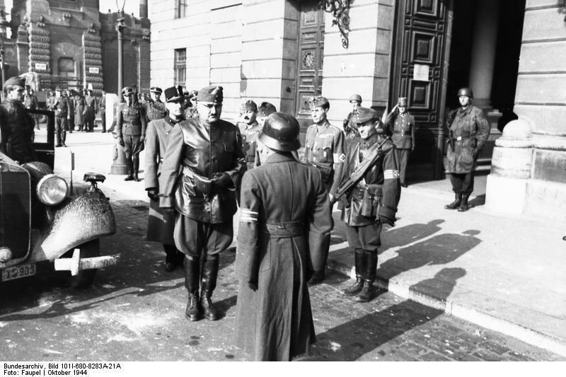 Budapest, ungarischer General