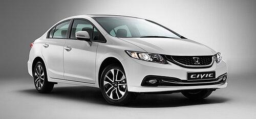 Гибридную модель Honda Civic представят в следующем году