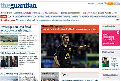 Китай блокировал сайт The Guardian