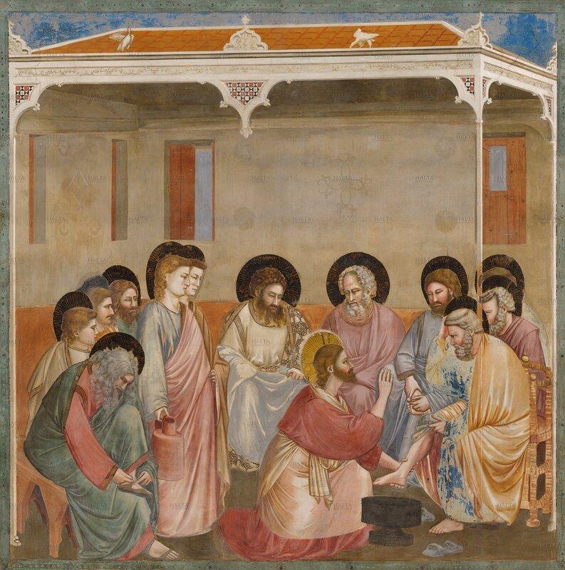 30.Жизнь Христа. Омовение ног учеников.jpg