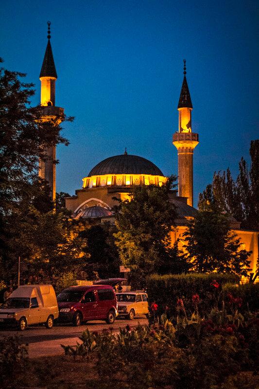 Джума-Джами - самая большая мечеть Крыма