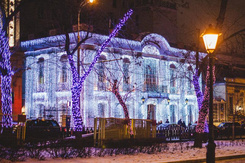 Новогодние бульвары Москвы