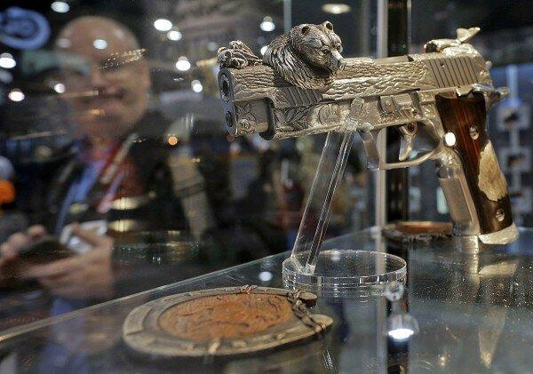 выставка оружия в лас-вегасе