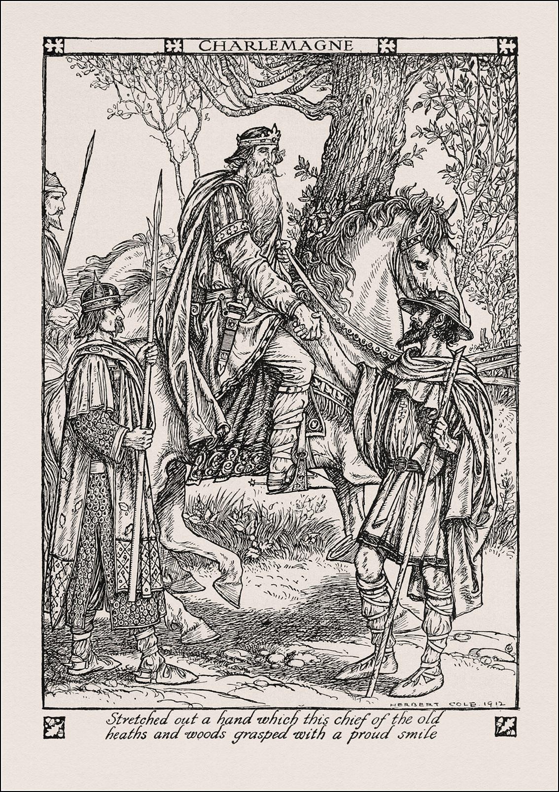 Herbert Cole, A child's book of warriors