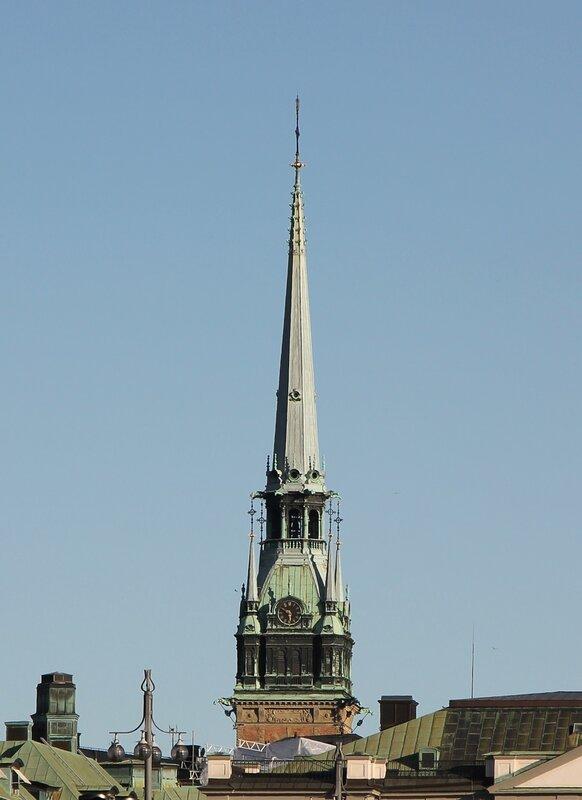 Стокгольм. Stockholm. Немецкая церковь, Tyska kyrkan, Deutsche Kirche,  Церковь Святой Гертруды, Sankta Gertruds kyrka