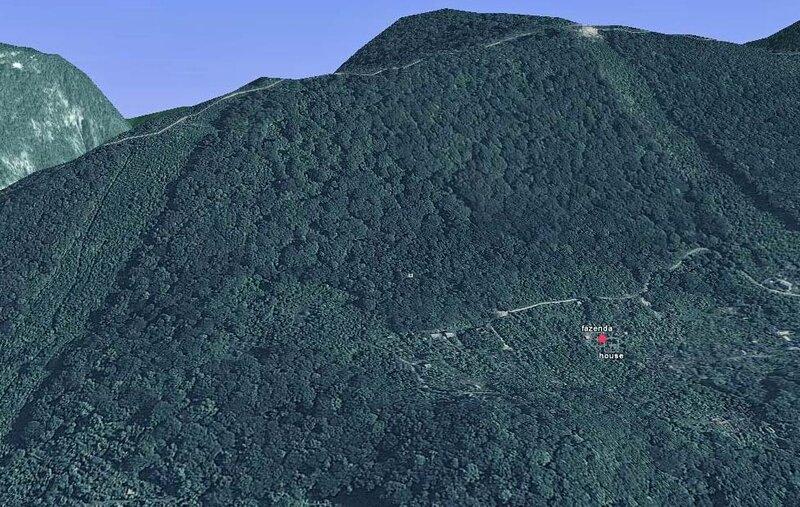 Моя фазенда на склоне горы