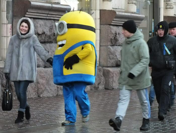 миньоны на Майдане