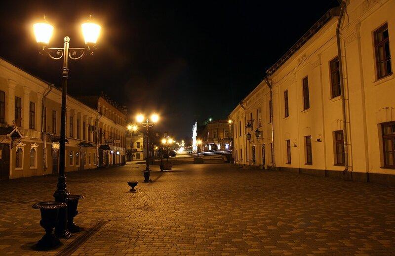 Старинные фонари на ночной ул. Спасской IMG_7690