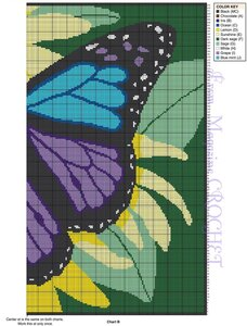 开心果喜欢的蝴蝶编织毯子 - qyp.688 - 邱艳萍手工博客