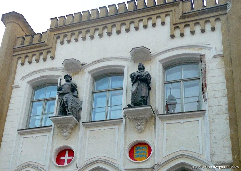 Здание гильдии Св. Канута.
