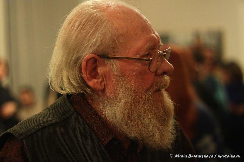Выставка живописи 'Встреча' Виктора Чудина, Саратов, Радищевский музей, 20 декабря 2013 года