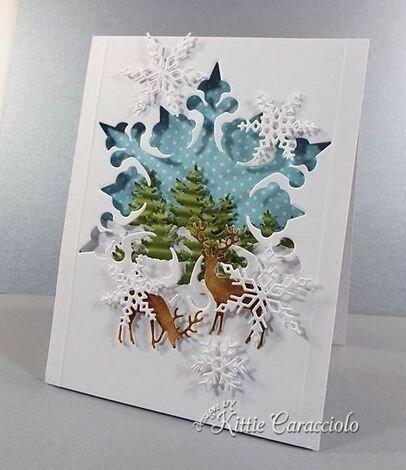 Новогодние открытки Kittie Caracciolo