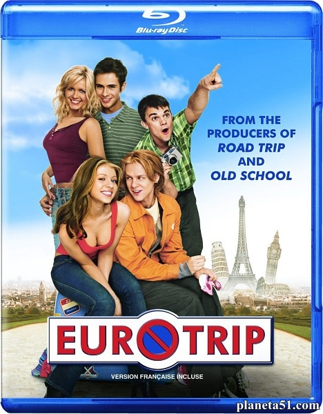Евротур / EuroTrip [Theatrical Cut] (2004/BDRip/HDRip)