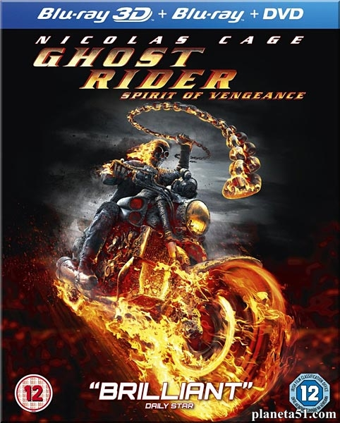 Призрачный гонщик 2 / Ghost Rider: Spirit of Vengeance (2012/BDRip/HDRip/3D)
