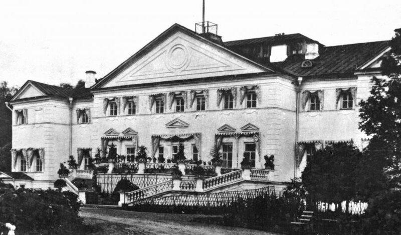 Ольгово, главный дом