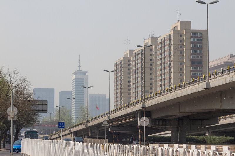 Эстакада, Пекин