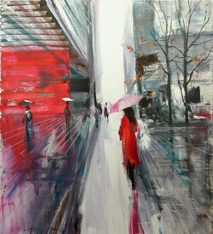 Дождь романтичный и печальный... / К.Нгуен