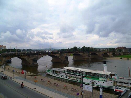 Германия, Дрезден – набережная (Germany, Dresden – Quay)