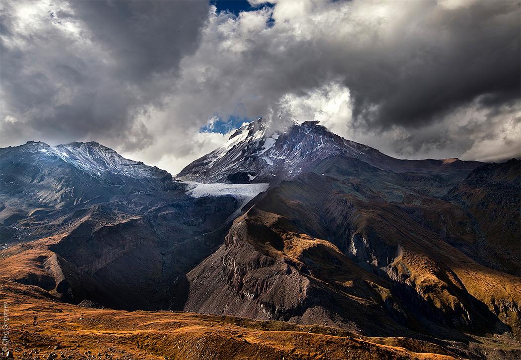фото горы Казбек