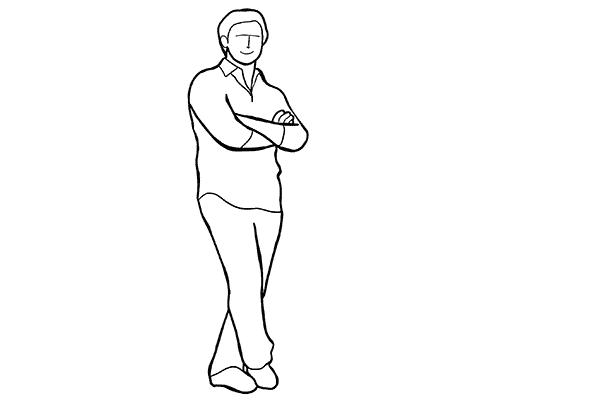 Позирование: позы для мужского портрета 2