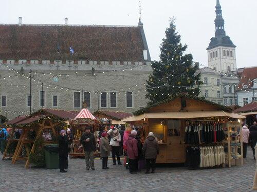 Рождественский базар на Ратушной площади