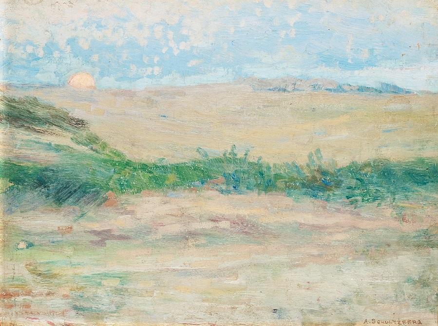 Månuppgång, Etaples , 1890