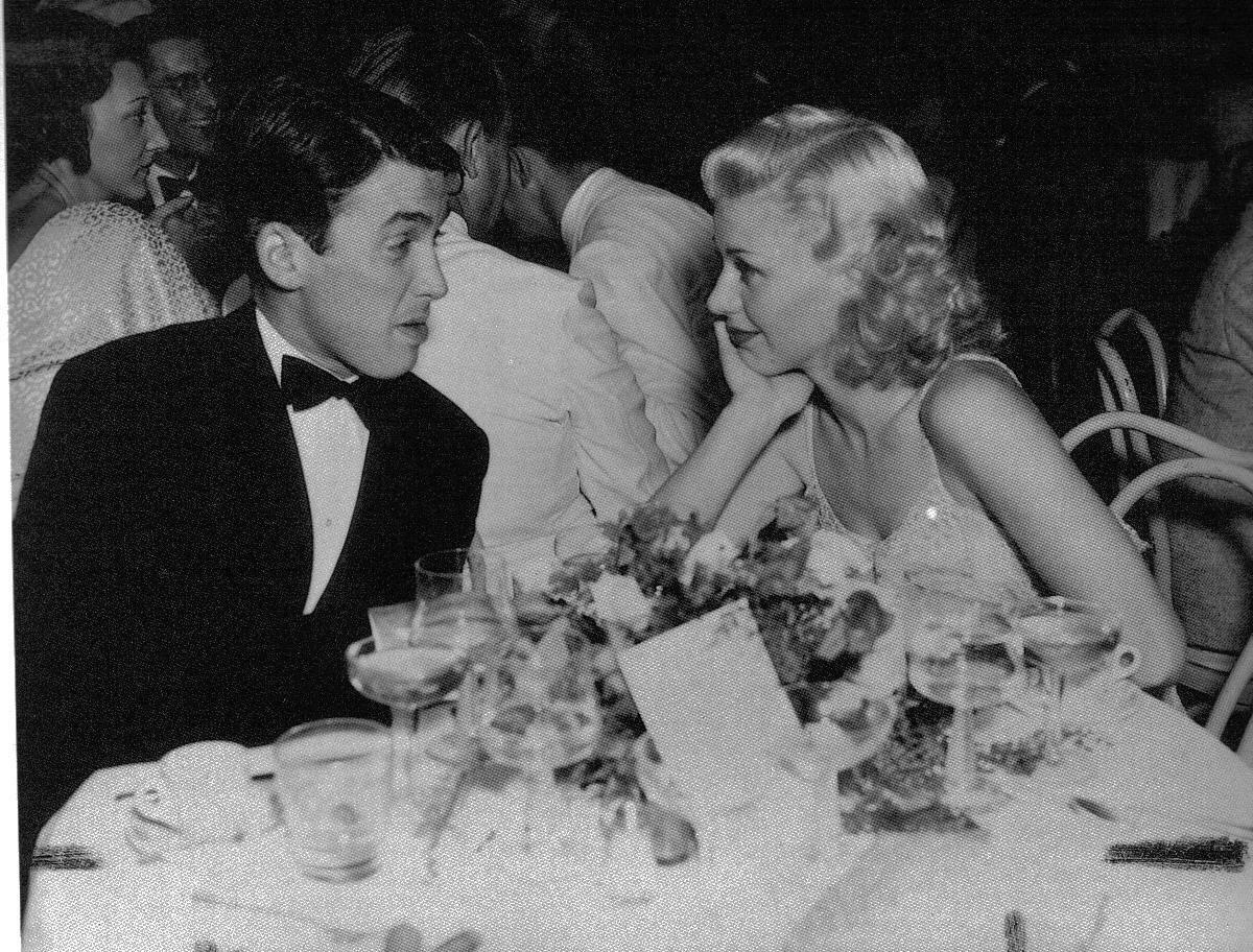 1940. Джеймс Стюарт и Джинджер Роджерс в Эль Трокадеро, Голливуд