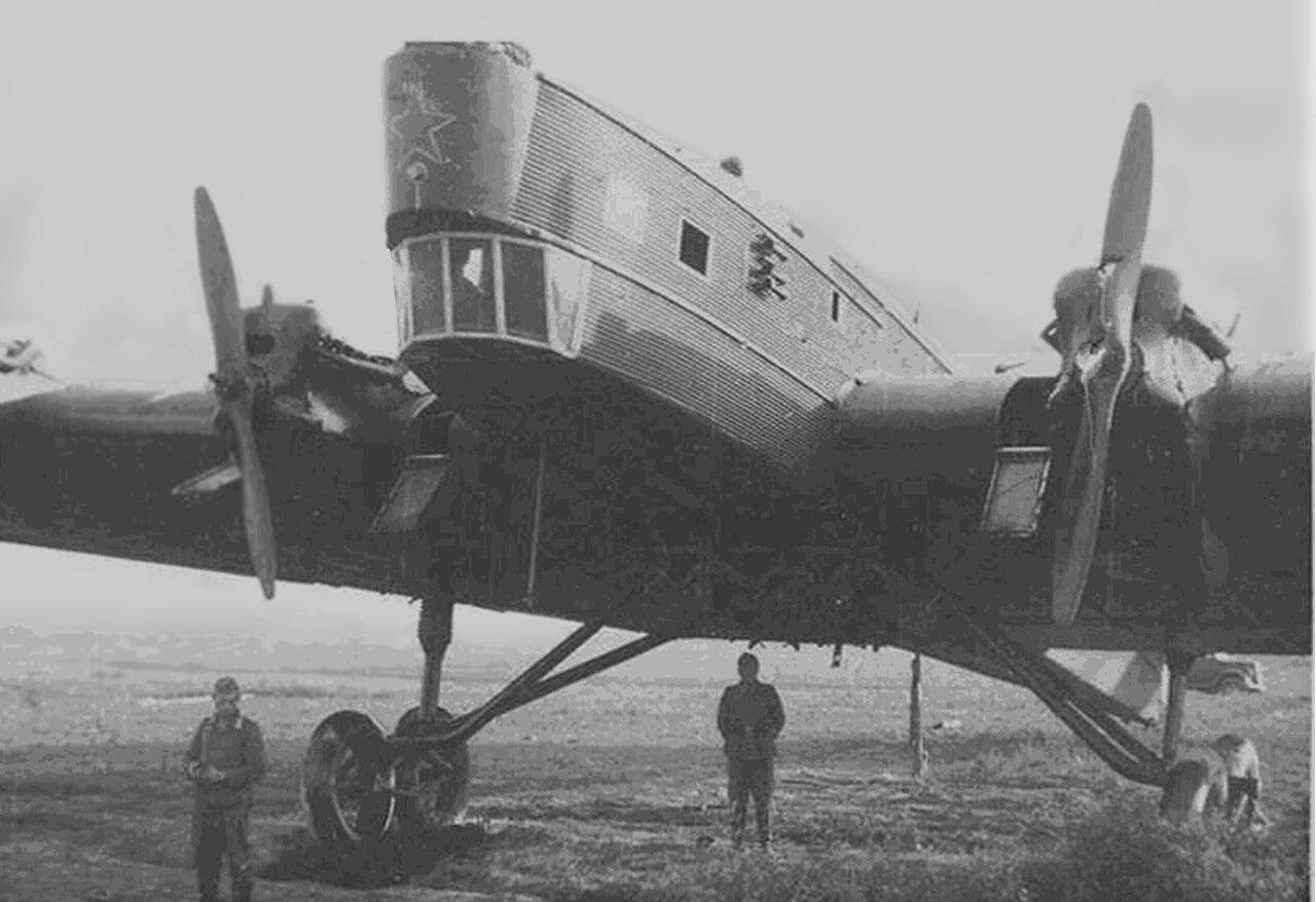 Захваченный ТБ-3