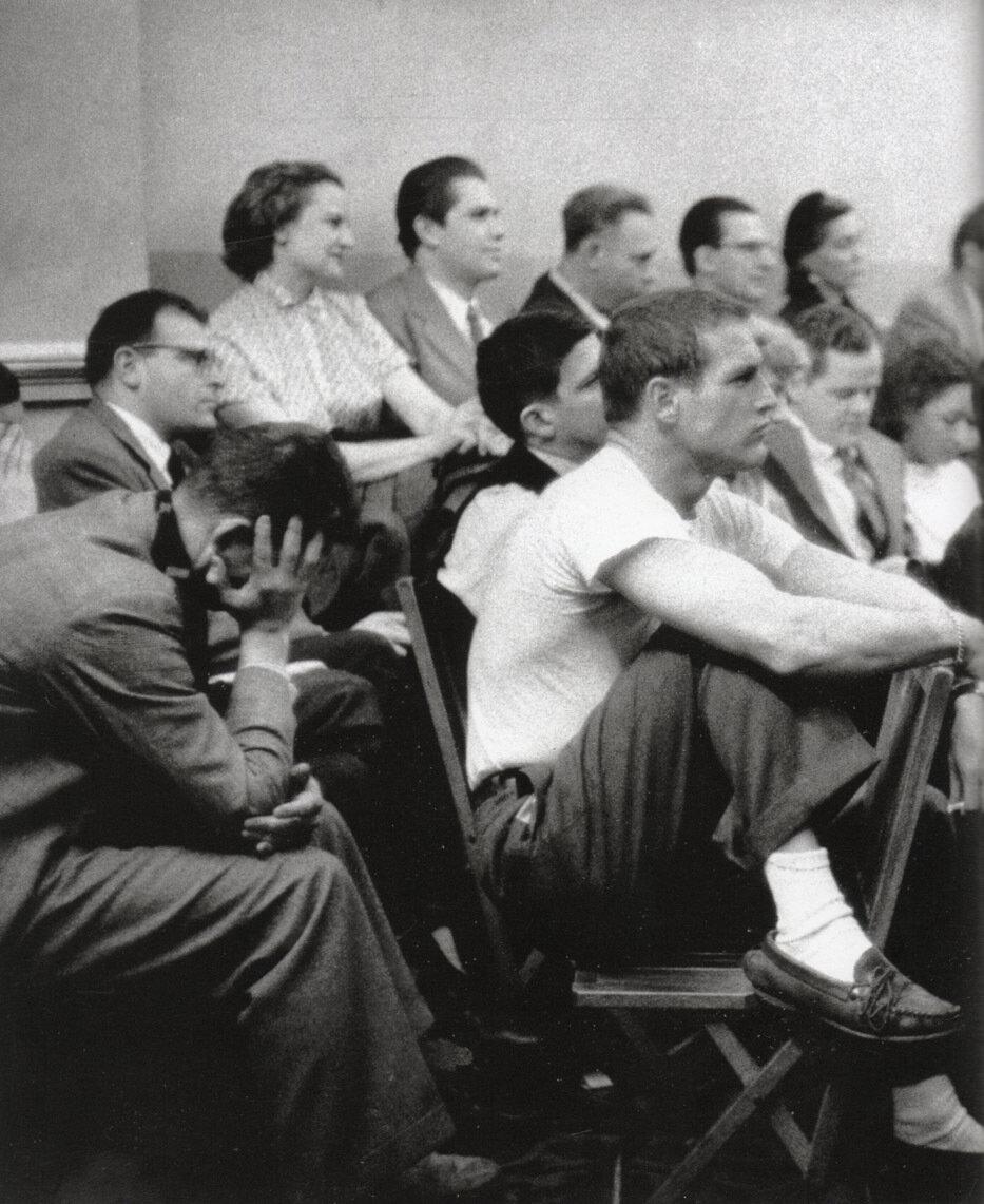 1955. Пол Ньюман в Актерской студии