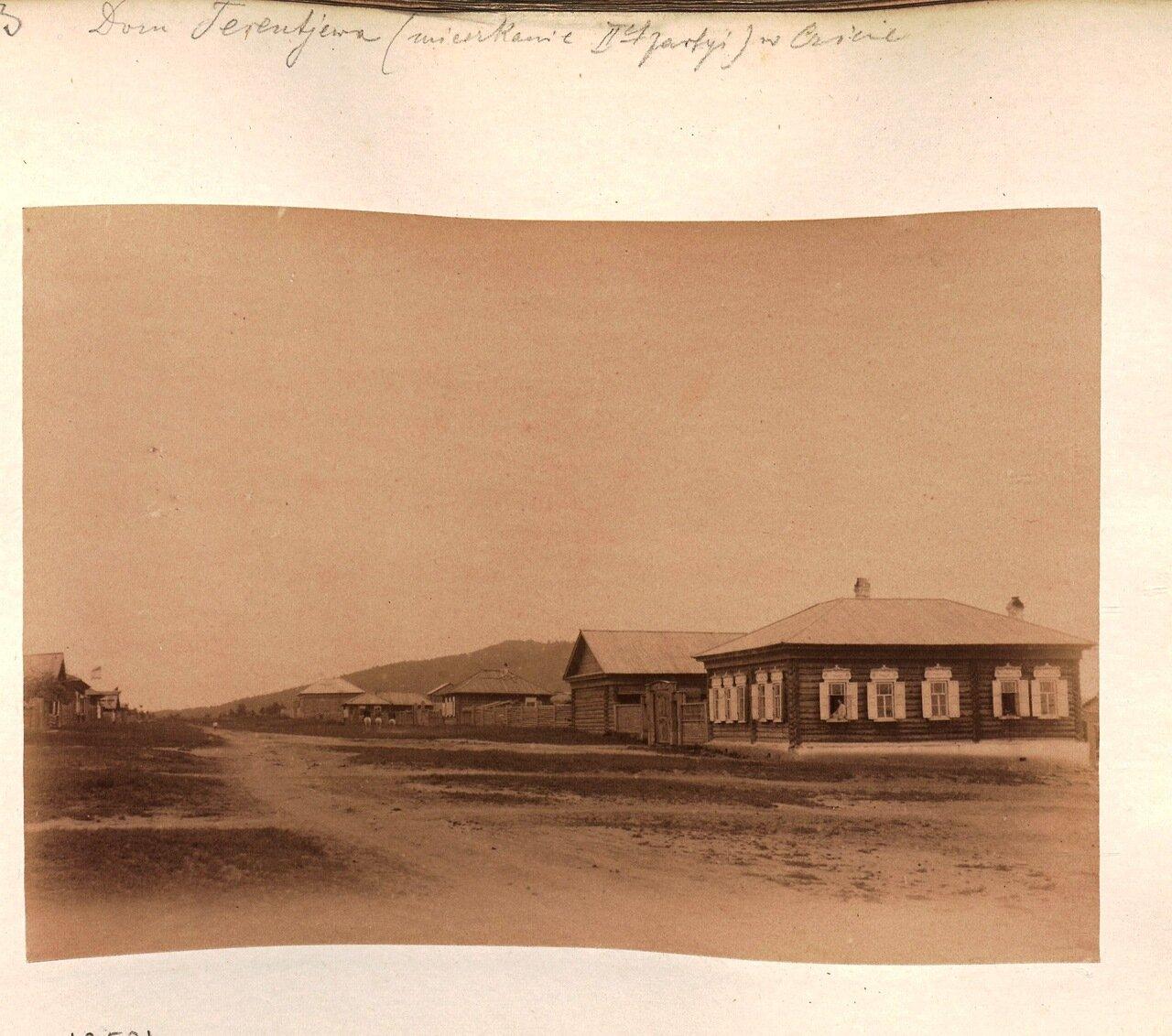 Дом Терентьева в Чите