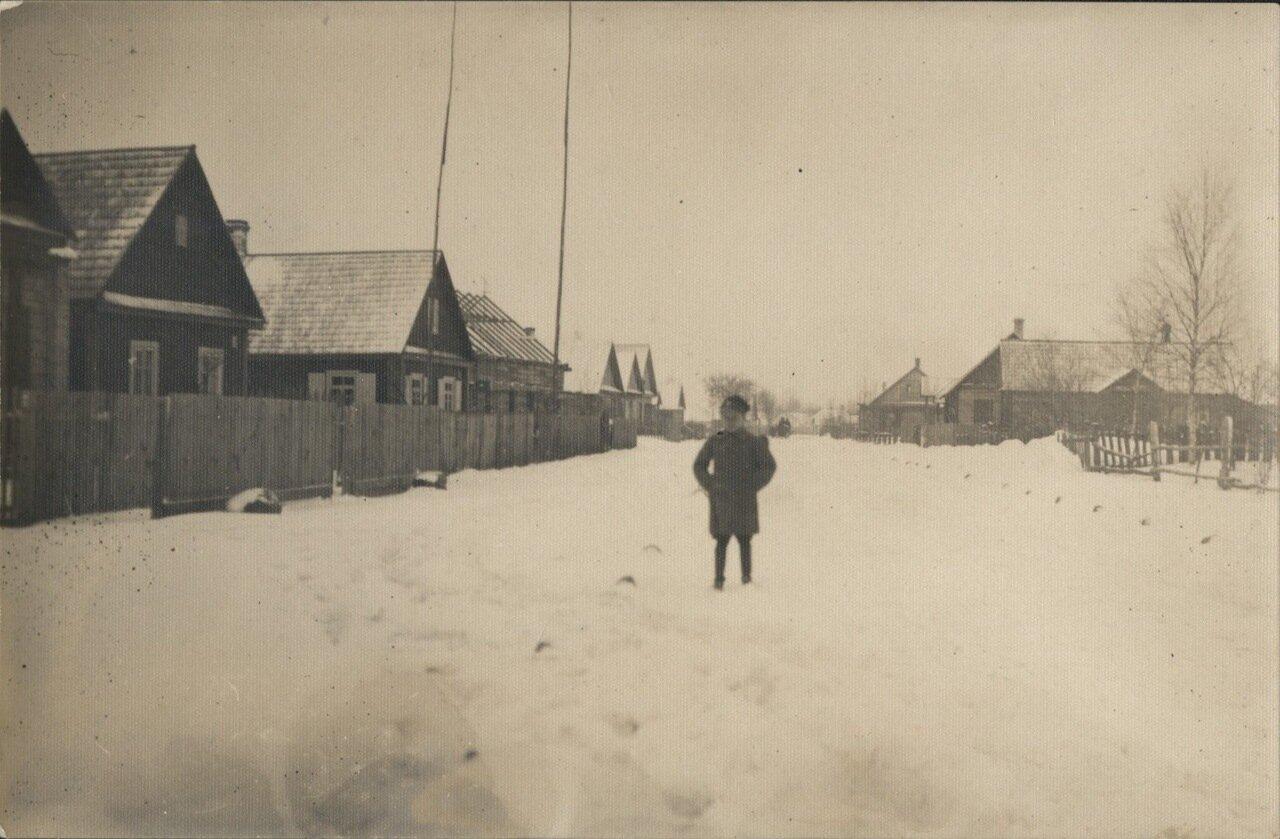 Улица Лиды зимой