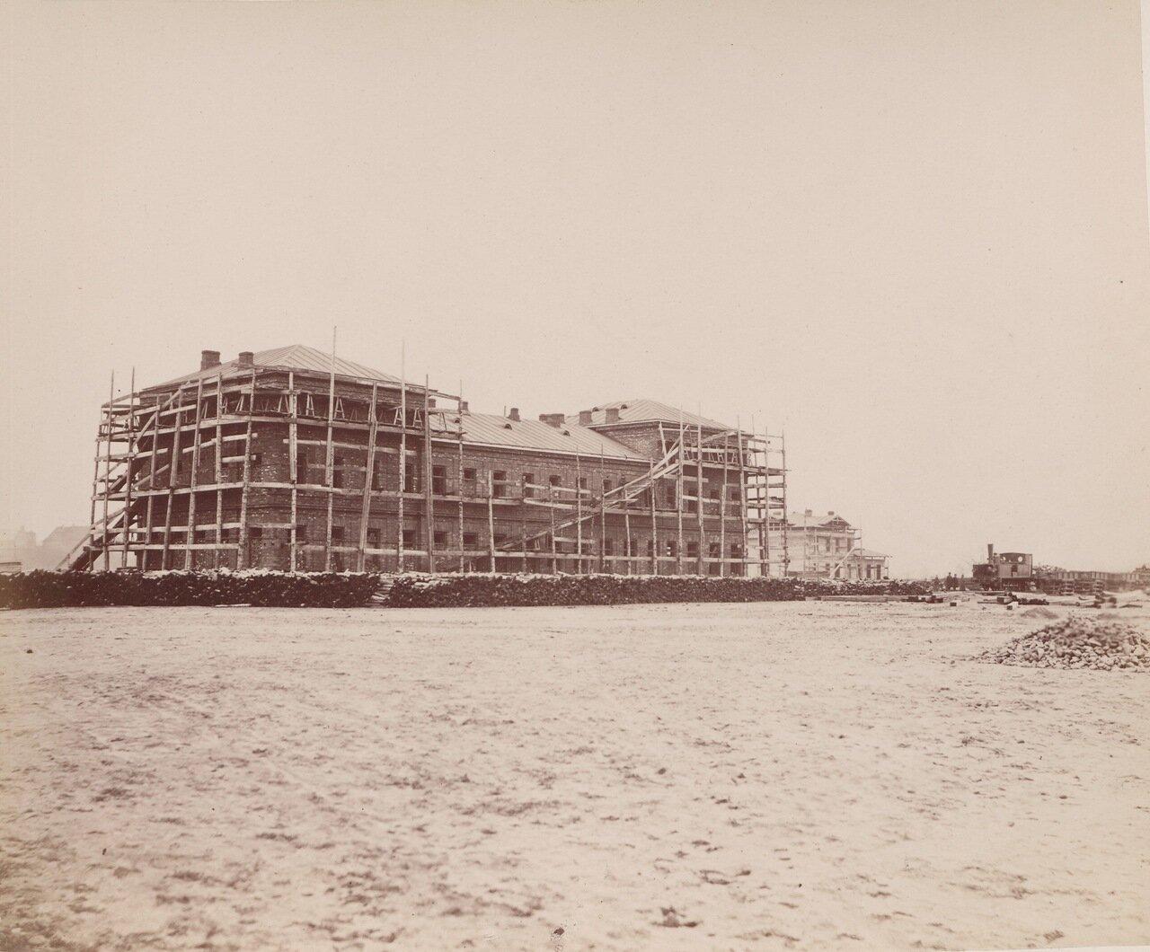 Строительство железнодорожного вокзала в г. Кельце